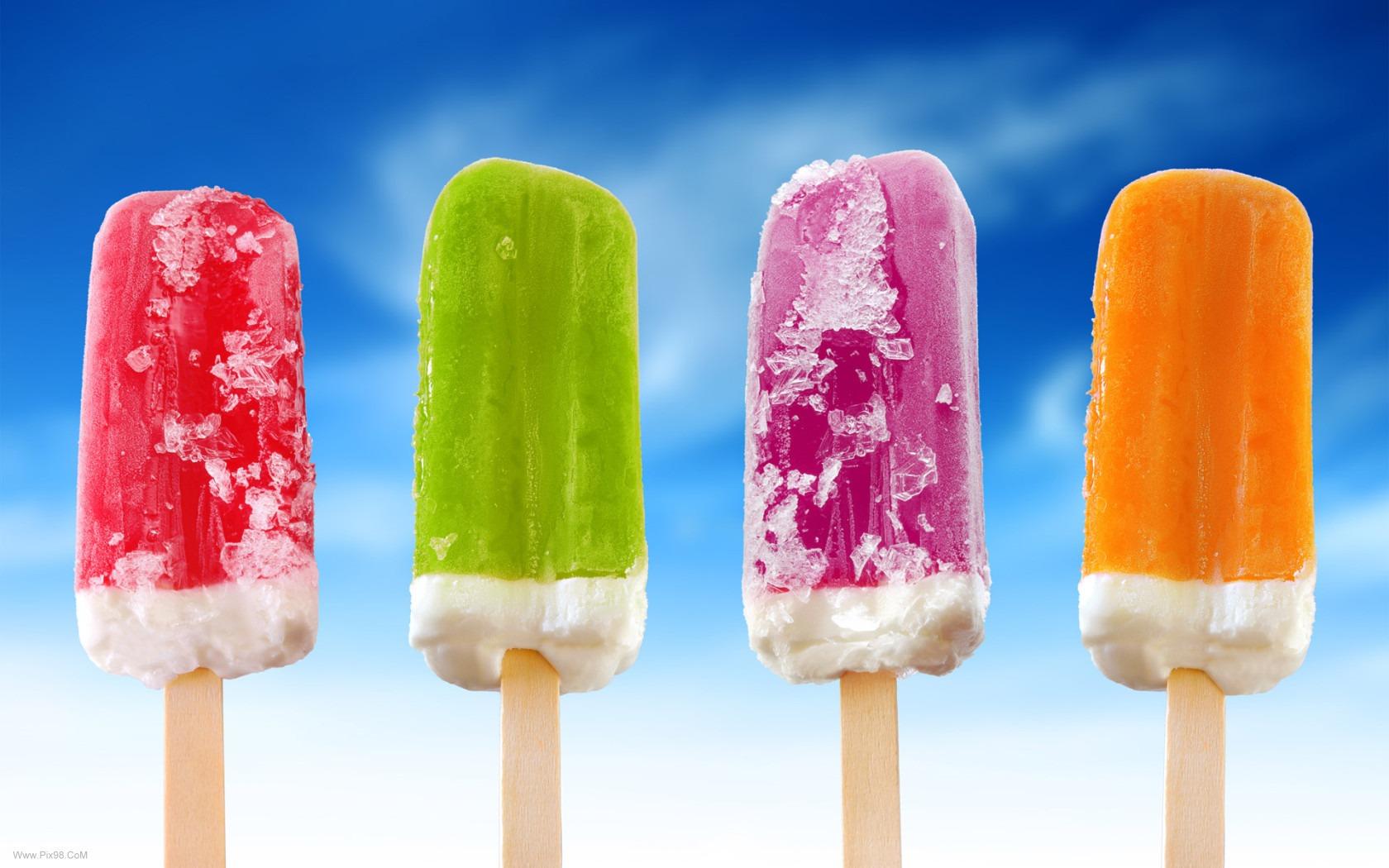 بستنی یخی