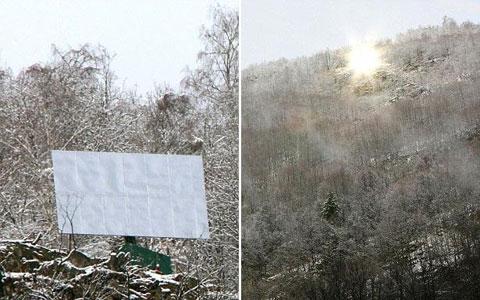 آینه به جای خورشید: راهکار نروژیها برای 5 ماه تاریکی