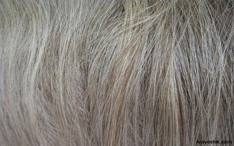 دمنوشی سفید برای جلوگیری از سفید شدن موها