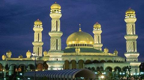 طلاييترين مسجد دنيا