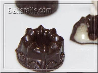 این شکلات های زیبا را در منزتان درست کنید