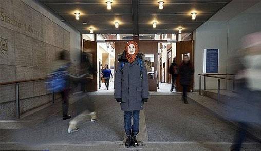 ابتکار جالب دختر ایرانی- کانادایی / تصاویر