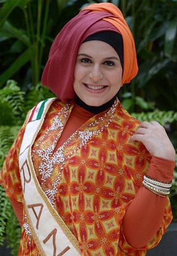 ناگفتههای سمانه زند، دختر شایسته ایرانی از پشتپرده مسابقات جهانی دختران مسلمان و نحوه شرکت و انتخاب او !