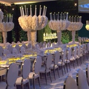 جشن عروسی اشرافی و باشکوه نوه امیر کویت / توزیع انگشتر الماس بین مهمانان! + تصاویر