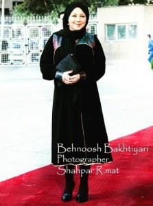 حجاب بهنوش بختیاری در جشن حافظ ! + عکس