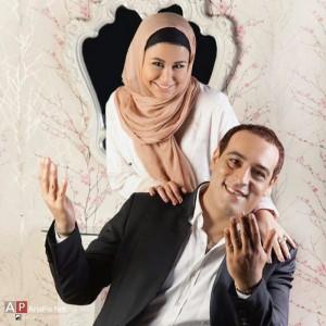 عکس یاسمینا باهر و همسرش بازیگر نقش سحر در سریال آقا و خانم سنگی + بیوگرافی