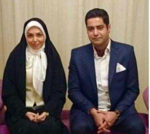 عکس آزاده نامداری و همسر جدیدش سجاد عبادی