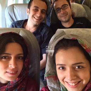 پگاه آهنگرانی به همراه ترانه علی دوستی