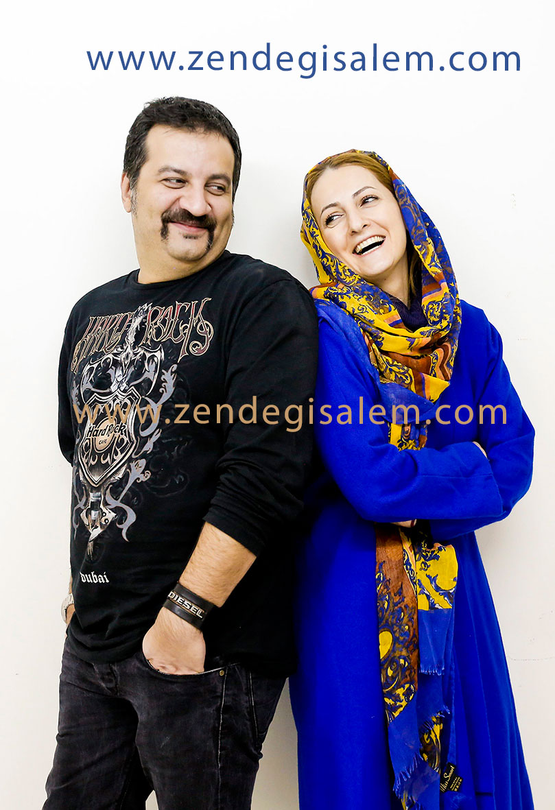 شقایق دهقان و همسرش محراب قاسمخانی
