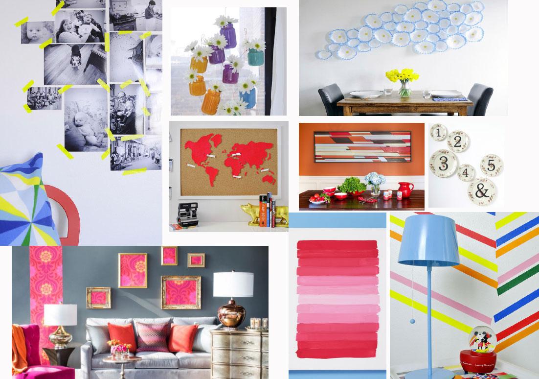 ایده های جدید برای تغییر دکوراسیون منزل(Home Decorating)