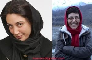 بازداشت هدیه تهرانی و سوسن پرور