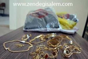 سرقت طلا از خانم ها