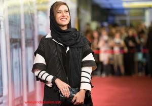 پریناز ایزدیار در مراسم اختتامیه سریال شهزاد