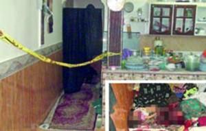 قتل فجیع مادر 40 ساله و کودکانش