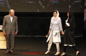 ترانه علیدوستی و پریناز ایزدیار در مراسم جشن اختتامیه شهرزاد