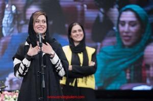 پریناز ایزدیار در مراسم اختتامیه شهرزاد