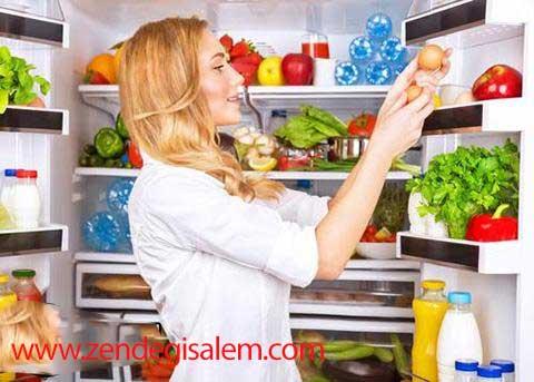 کدام مواد غذایی را در یخچال نگذاریم؟