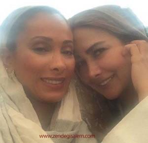 آناهیتا نعمتی و سحر زکریا