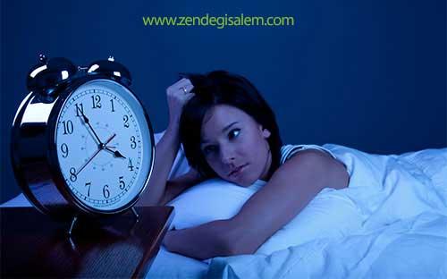 درمان کم خوابی یا کم خوابی