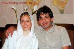 حمید گودرزی و همسرش ماندانا دانشور