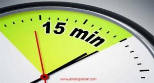 قانون 15 دقیقه چیست؟(What is the Law of 15 minutes)