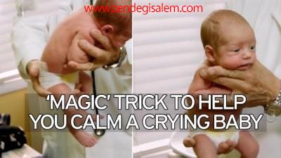 راهکار طلایی برای بند آوردن گریه نوزاد