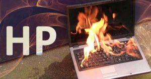 خطر آتش گرفتن لپ تاپ های HP