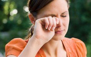 شیوع حساسیت چشمی در پاییز