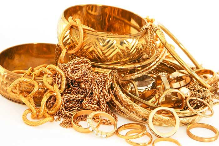 افت بازار طلا