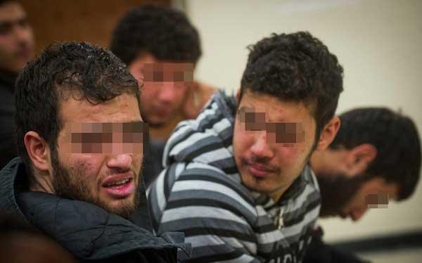 زورگیران در چنگال پلیس