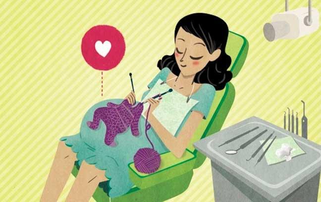 نکاتی که زنان باردار در مراجعه به دندانپزشکی باید بدانند.