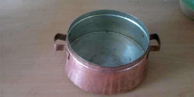 تاثیر استفاده از تکه آهن در قابلمه غذا / پختن غذا در ظروف مسی