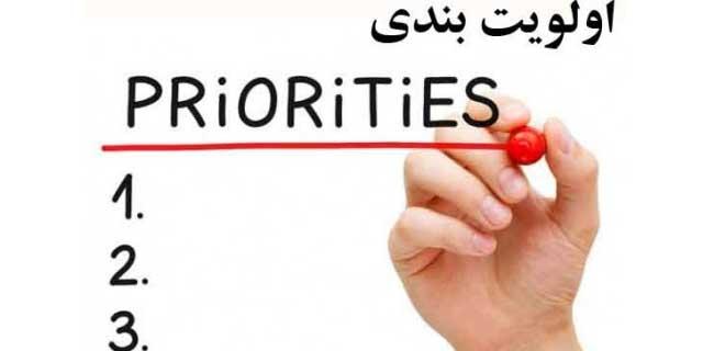 چگونه کارهایمان را اولویت بندی کنیم؟برنامه ریزی با اولویت (prioritize)