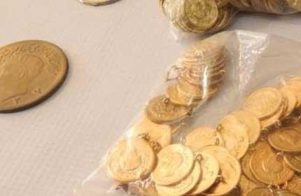 باند فروش سکه های تقلبی دستگیر شدند./بازداشت باند ضرب سکه های تقلبی