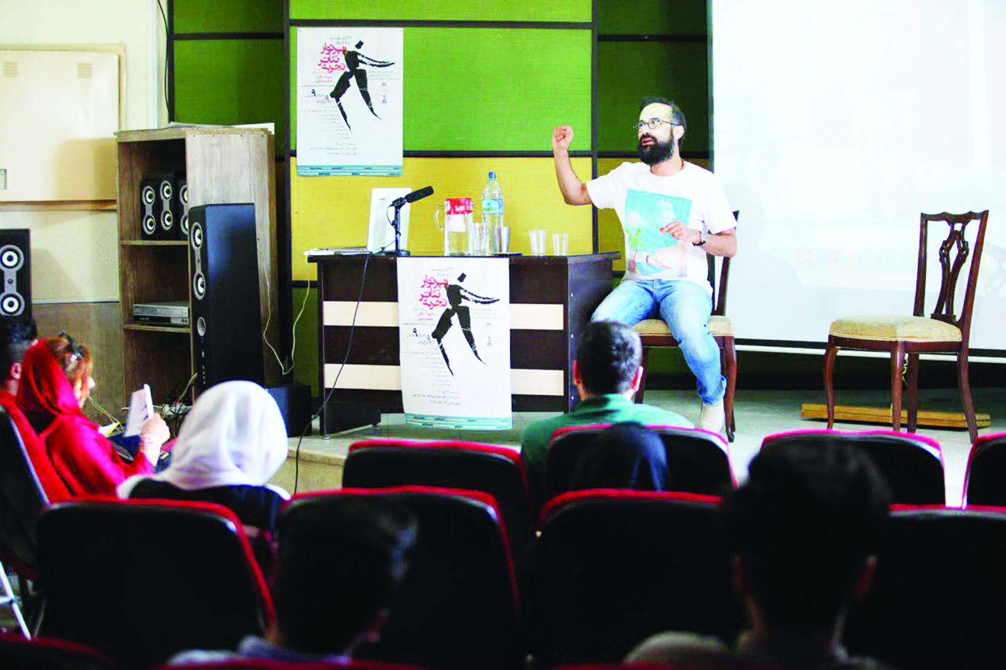 بازیگر، برده کارگردان نیست / در کارگاه هرمنوتیک در تالار هنر اصفهان چه گذشت