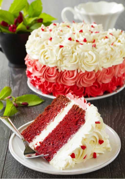 طرز تهیه کیک کرم دار