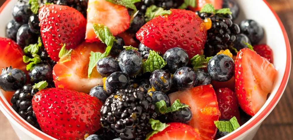 خوردن میوه بجای غذا