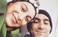فلامک جنیدی  و همسر