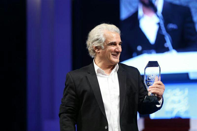 اهدای جایزه فیلم سلامت به بازیگر نقش دکتر قریب