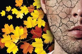 پاییز و خشکی پوست