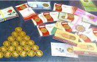 دستگیری فروشنده سکه های تقلبی