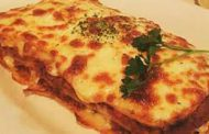 لازانیا، غذایی سرشار از کالری
