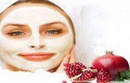 جوانسازی پوست با ماسک انار