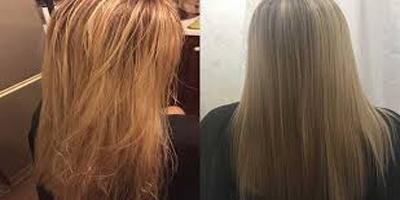 صاف کردن مو به روش برزیلی