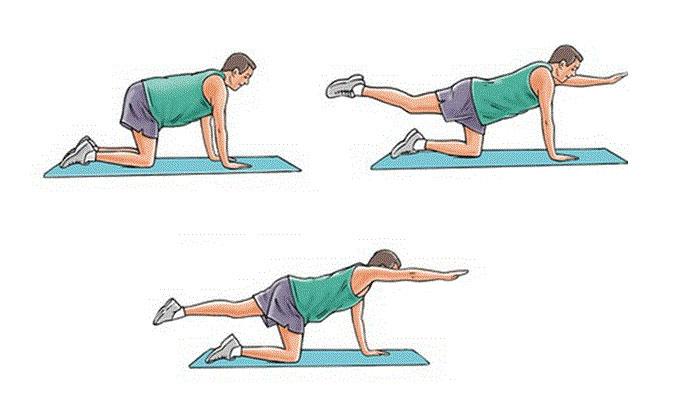 حرکت ورزشی روز چهارم