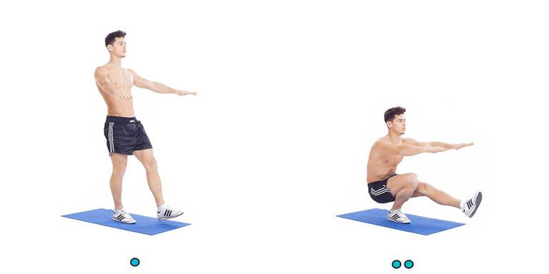 حرکت ورزشی روز هفدهم