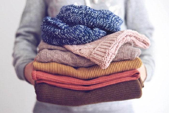 روش شستن لباس بافتنی