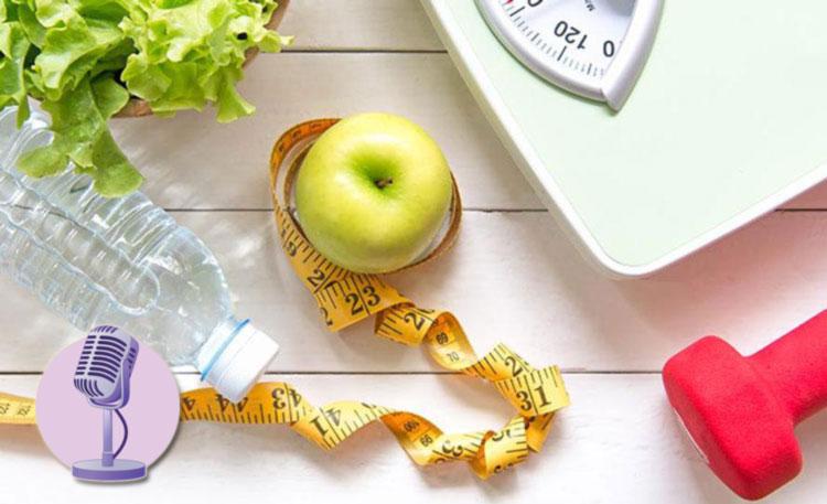 پادکست هدف گذاری در کنترل وزن و سلامت جسم