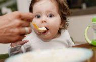 لعاب برنج برای نوزاد
