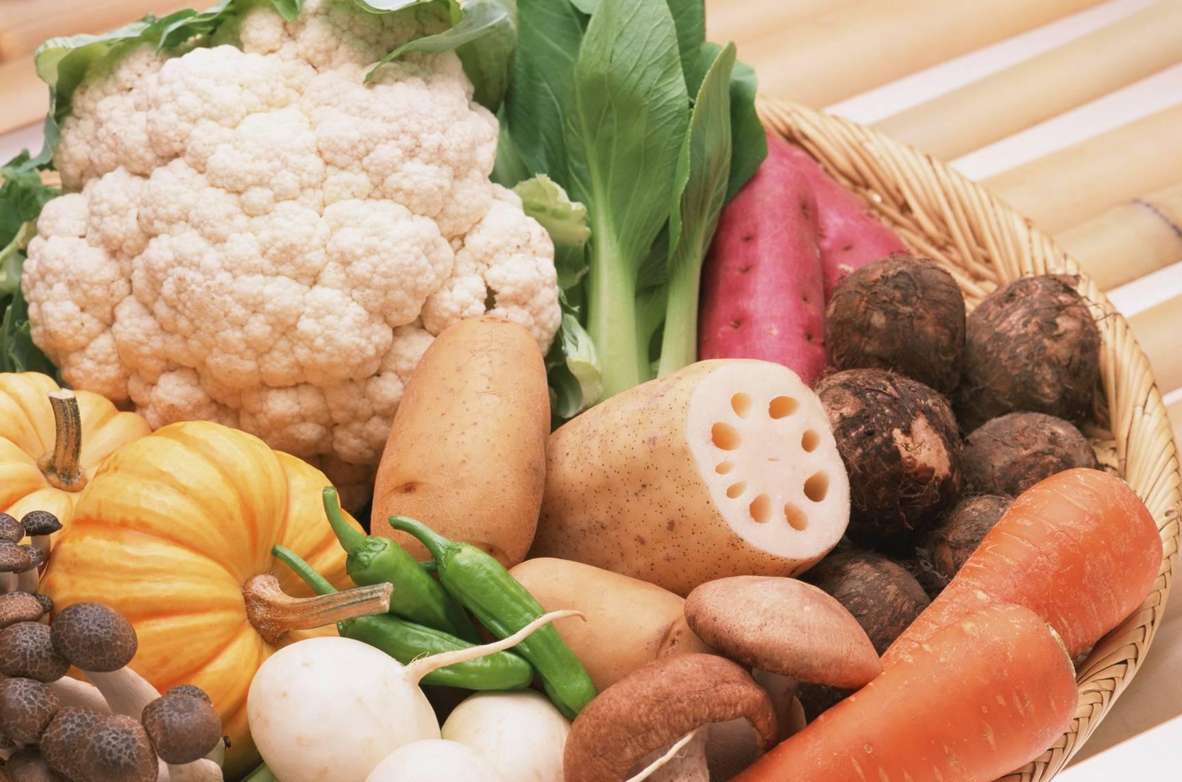 پاکسازی بدن با سبزیجات